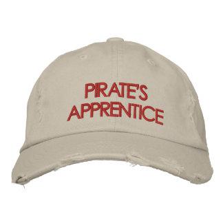 Der Lehrlings-Hut des Piraten Bestickte Mützen