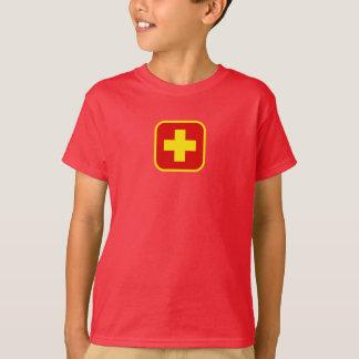 Der Leibwächter-Symbol-T - Shirt des Kindes
