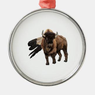 Der Leiter Silbernes Ornament