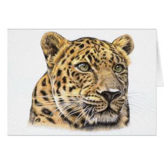 Der Leopard - The Leopard Karte