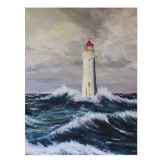 Der Leuchtturm Postkarte
