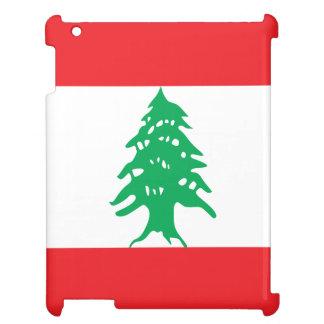 Der Libanon-Flagge iPad Cover