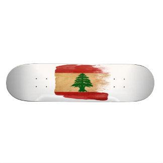 Der Libanon-Flagge Skateboard Deck