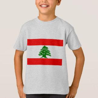 Der Libanon-Flagge T-Shirt