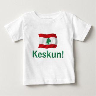 Der Libanon Keskun! Baby T-shirt
