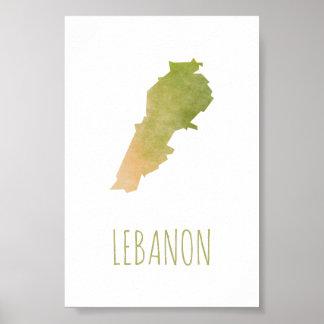 Der Libanon Poster