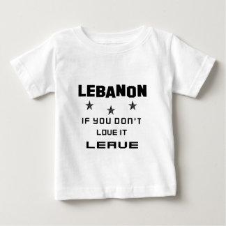 Der Libanon, wenn Sie nicht Liebe es tun, Baby T-shirt
