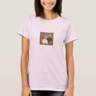 Der Liebe-EIN-Stier der Frauen T-Shirt