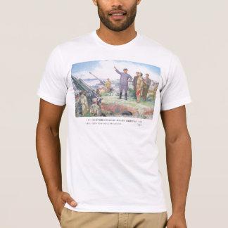 Der liebe Führer weist die Truppen. an. T-Shirt