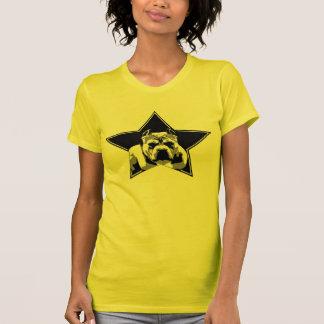 Der Liebhaber-nicht Kämpfer-Pitbull-Spitze der T-Shirt