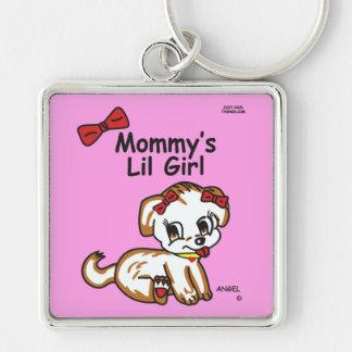 Der Lil der Engels-Mama Mädchen Keychain Schlüsselanhänger