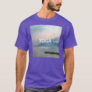 Der lila T - Shirt der gesunden