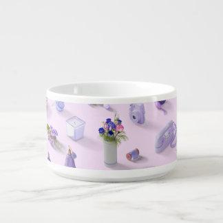 Der lila Traum des Mädchens Kleine Suppentasse