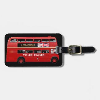 Der London-Bus Kofferanhängern
