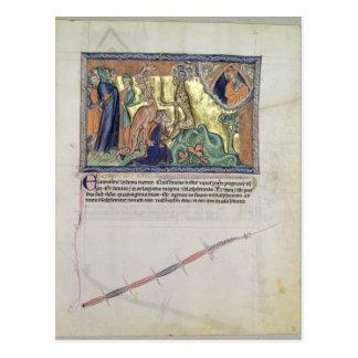 Der Lord, der die Leuteanbetung aufpasst Postkarte
