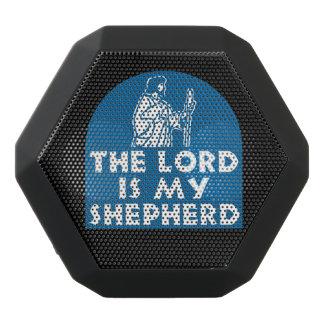 Der Lord ist mein Schäfer-Blau Schwarze Bluetooth Lautsprecher