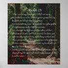 Der Lord ist mein Schäfer, Psalm 23 Poster