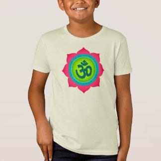 Der Lotos-Kinder OM Namaste das Bio Shirt