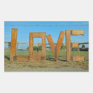 Der LOVEworks Zeichen Arrington Virginia Aufkleber