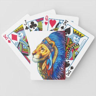 Der Löwe-Leiter Bicycle Spielkarten