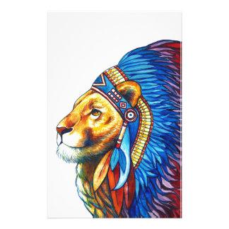 Der Löwe-Leiter Briefpapier
