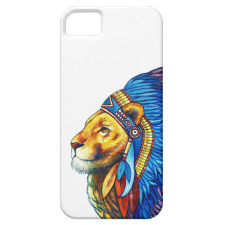 Der Löwe-Leiter iPhone 5 Etui