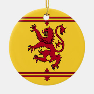 Der Löwe zügellos von Schottland Keramik Ornament