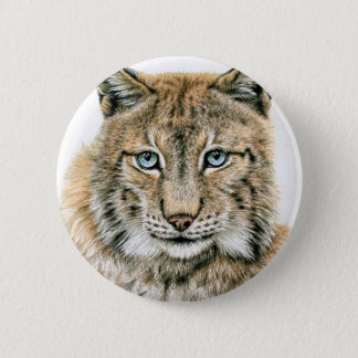 Der Luchs - The Lynx Runder Button 5,7 Cm