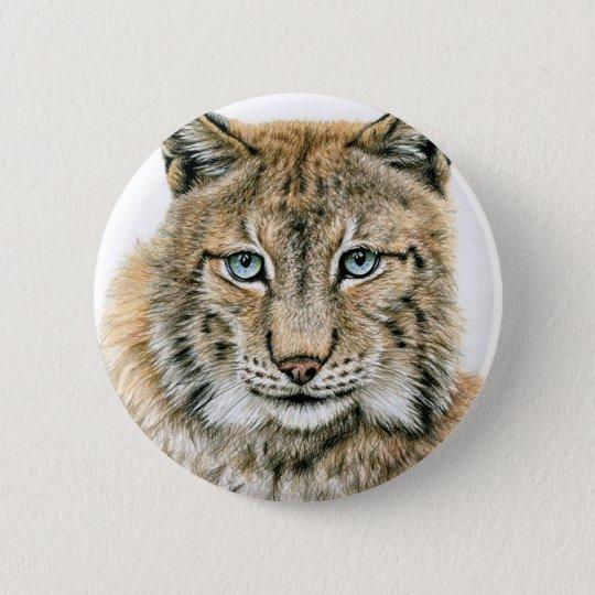 Der Luchs - The Lynx Runder Button 5,7 Cm