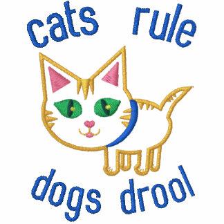 Der lustige Entwurf des Katzen-Liebhabers