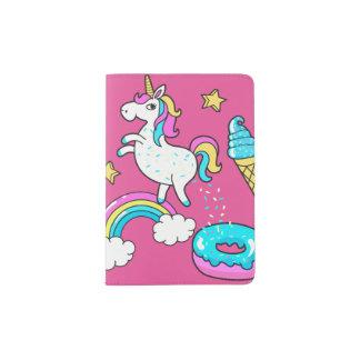 Der lustige Unicorn, der Regenbogen kackt, Passhülle