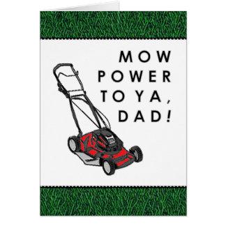 Der lustige Vatertag Karte