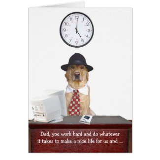 Der lustige Vatertag Karten