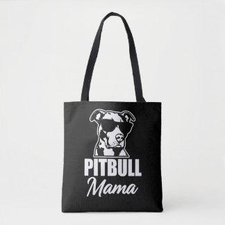 Der lustigen die Tasche Sprichwort-Frauen Pitbull