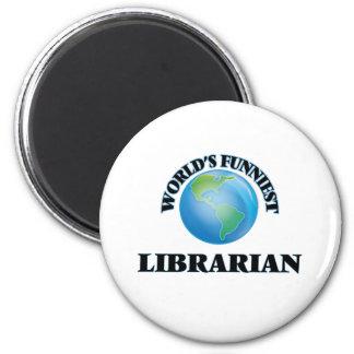 Der lustigste Bibliothekar der Welt Magnets