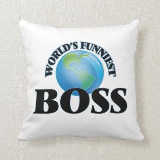 Der lustigste Chef der Welt Kissen