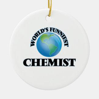 Der lustigste Chemiker der Welt Weinachtsornamente