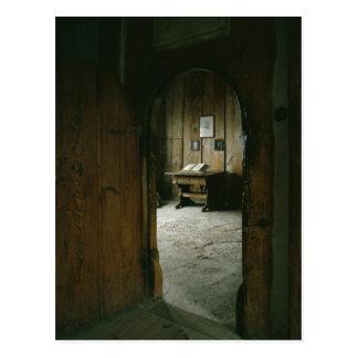 Der Luther Raum im Wartburg-Schloss Postkarte