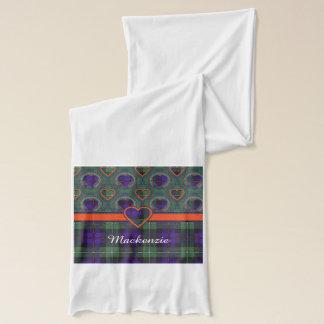 Der Mackenzie-Clan karierter schottischer Tartan Schal