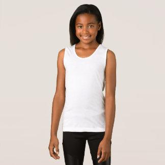 Der Mädchen verurteilen Jersey-Trägershirt Tank Top