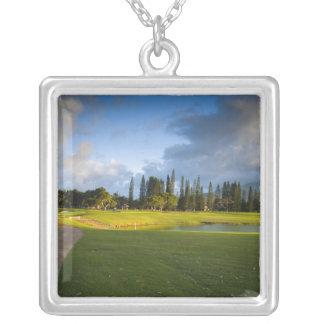 Der Makai Golfplatz in Princeville Versilberte Kette