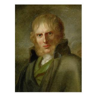 Der Maler Caspar David Friedrich Postkarte