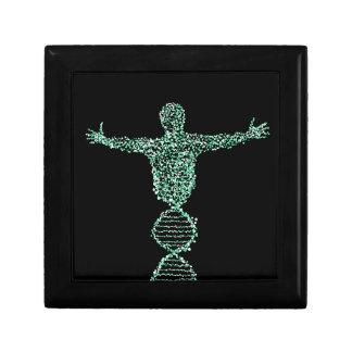 Der Mann der Biologie DNS Geschenkbox