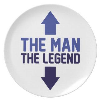 Der Mann die Legende Teller