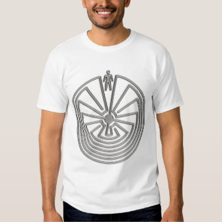 Der Mann im Labyrinth - Silber T Shirts
