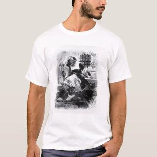 Der Mann in der Eisen-Maske in seinem Gefängnis T-Shirt