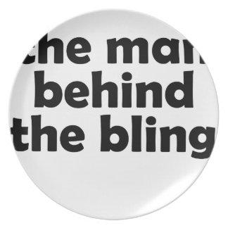 der Mann Melaminteller
