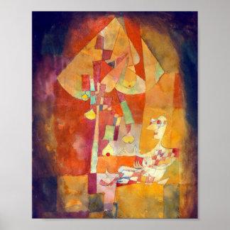 Der Mann unter dem Birnen-Baum: Paul Klee 1921 Poster