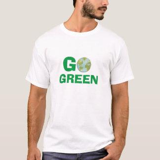 Der Männer gehen T-Shirt grünes