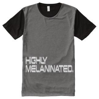 Der Männer Shirt das MELANINATED IN HOHEM GRADE